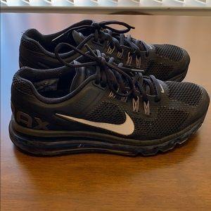 Nike Air Max waffle skin black